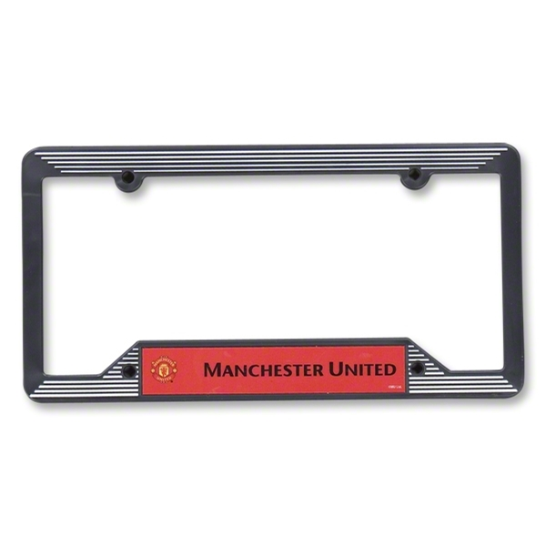 Manchester United Plastic License Plate Frame