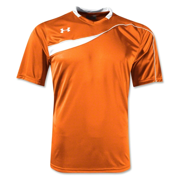 Under Armour Chaos Soccer Jersey (Org/Wht)