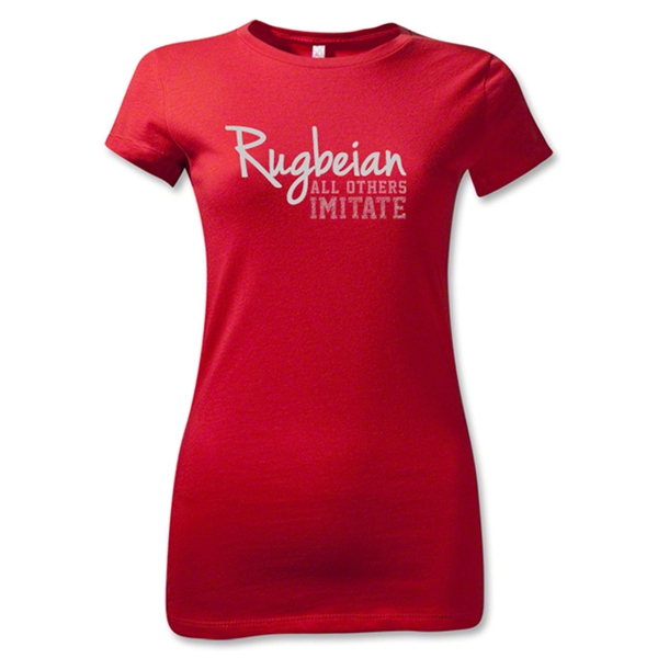 Rugbeian All Others Imitate Junior Women's T-Shirt (Red)