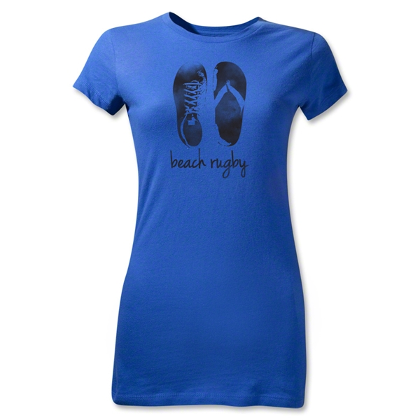 Trading In Beach Rugby Junior Women's T-Shirt (Royal)