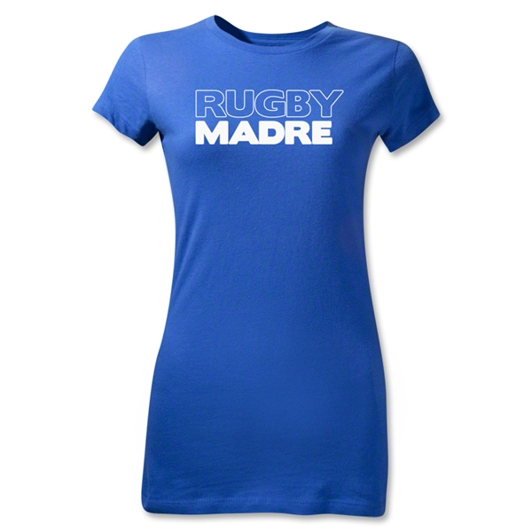 Rugby Madre 2 Junior Women's T-Shirt (Royal)