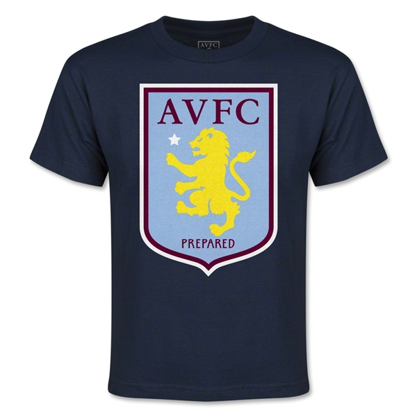 Aston Villa Youth T-Shirt (Navy)