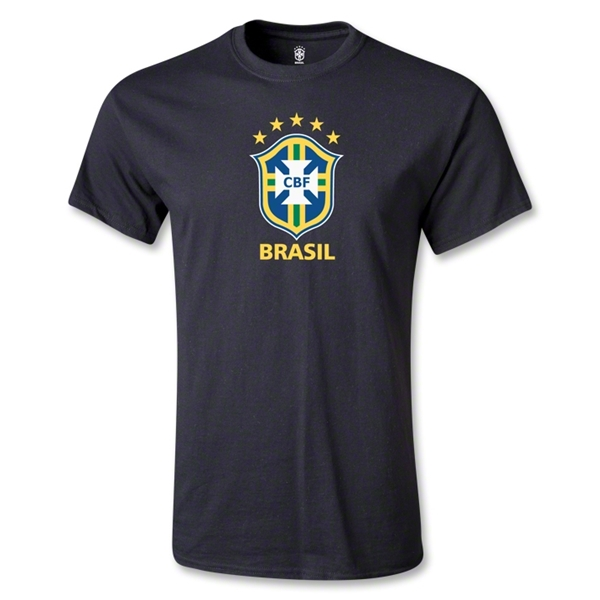 Brazil Youth T-Shirt (Black)