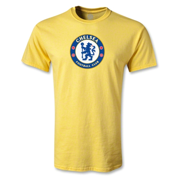 Chelsea Crest Youth T-Shirt (Yellow)