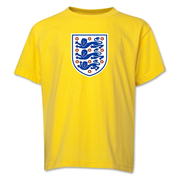 England Core Youth T-Shirt (Yellow)