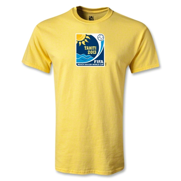 FIFA Beach World Cup 2013 Youth Emblem T-Shirt (Yellow)