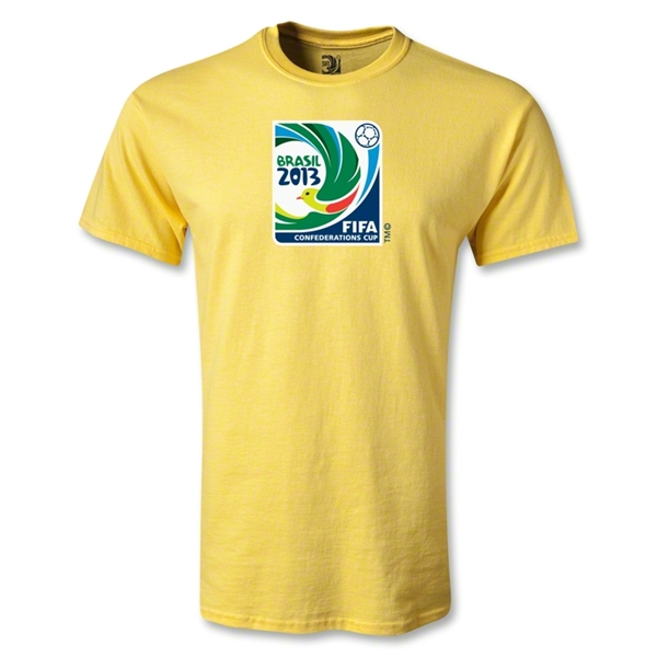 FIFA Confederations Cup 2013 Youth Emblem T-Shirt (Yellow)