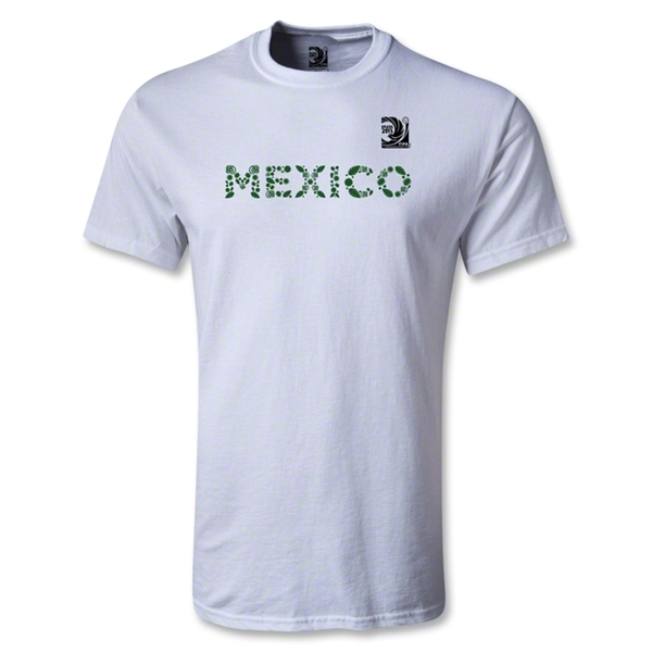 FIFA Confederations Cup 2013 Youth Mexico T-Shirt (White)