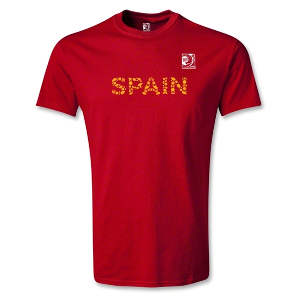 FIFA Confederations Cup 2013 Youth Spain T-Shirt (Red)