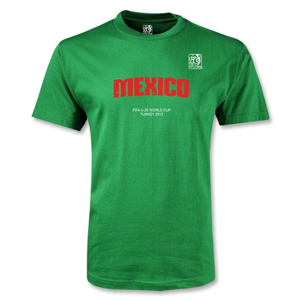 FIFA U-20 World Cup Turkey Youth Mexico T-Shirt (Green)