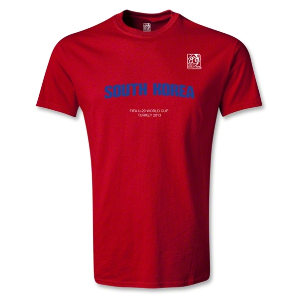 FIFA U-20 World Cup Turkey Youth South Korea T-Shirt (Red)