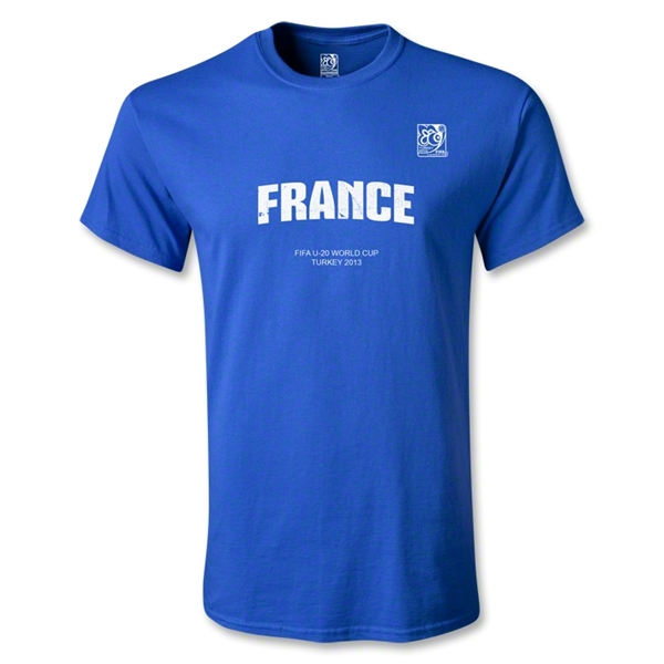 FIFA U-20 World Cup Turkey Youth France T-Shirt (Royal)