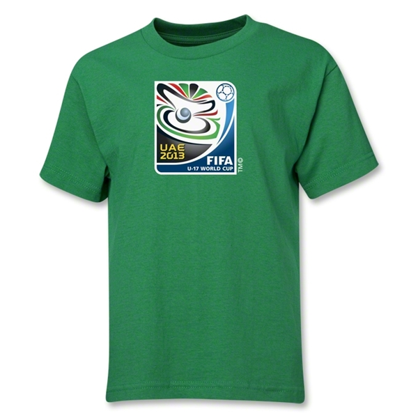 FIFA U-17 World Cup UAE 2013 Youth Official Emblem T-Shirt (Green)