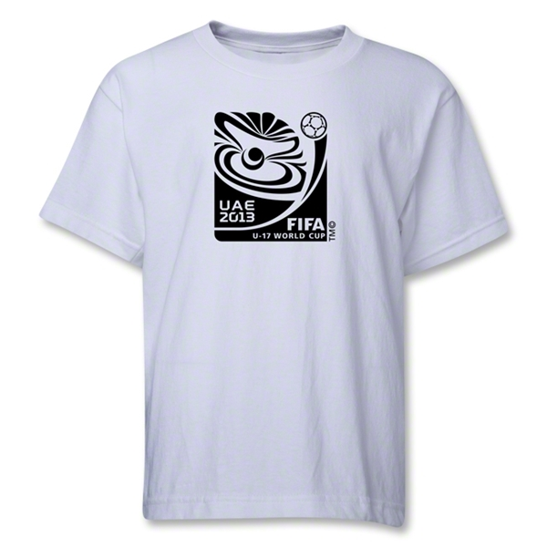 FIFA U-17 World Cup UAE 2013 Youth Official Emblem T-Shirt (White)
