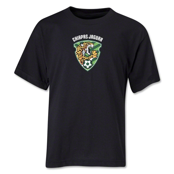 Jaguares de Chiapas Youth T-Shirt (Black)