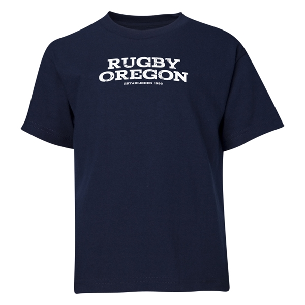 Rugby Oregon Youth T-Shirt (Navy)