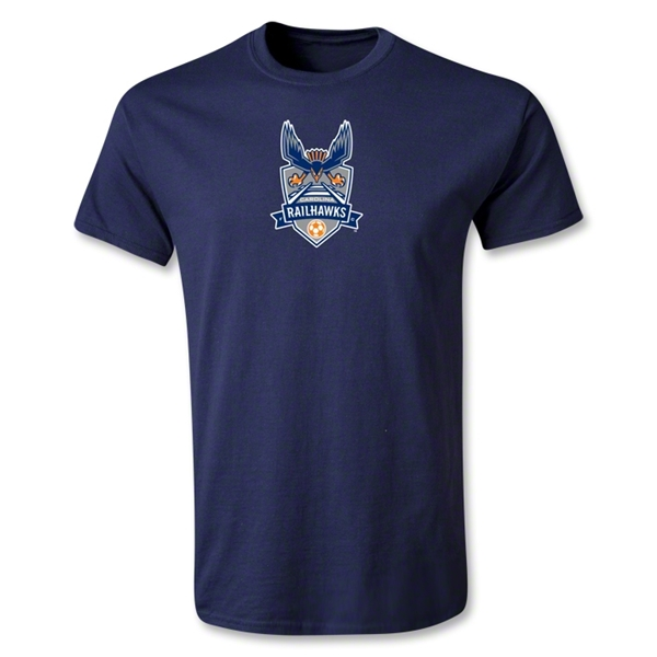 Carolina Railhawks Youth T-Shirt (Navy)