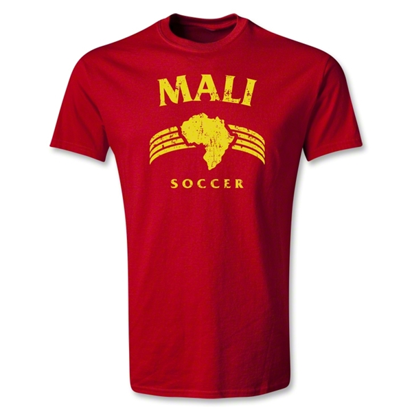 Mali Youth Country T-Shirt (Red)