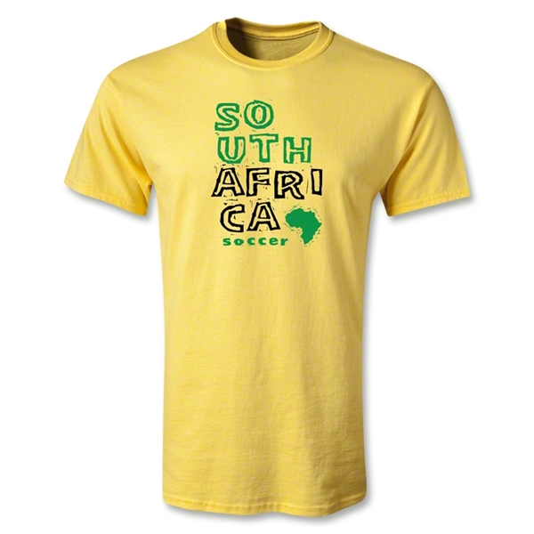 South Africa Youth Country T-Shirt (Yellow)
