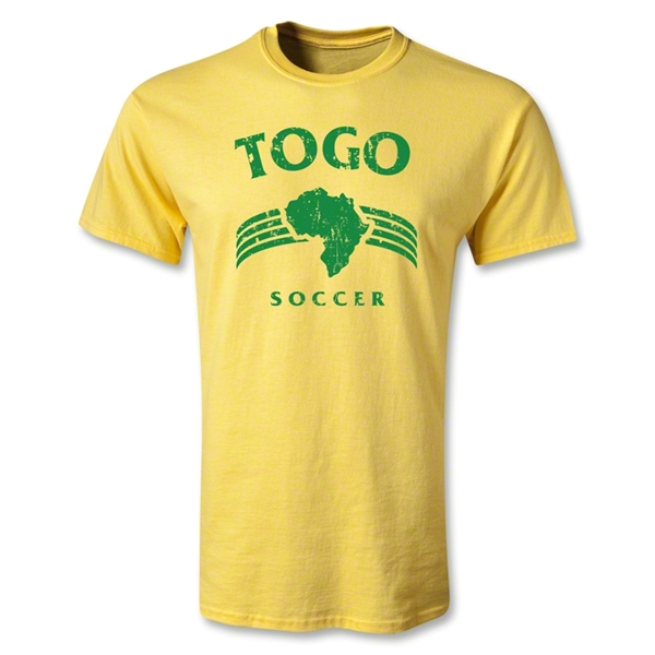 Togo Youth Country T-Shirt (Yellow)