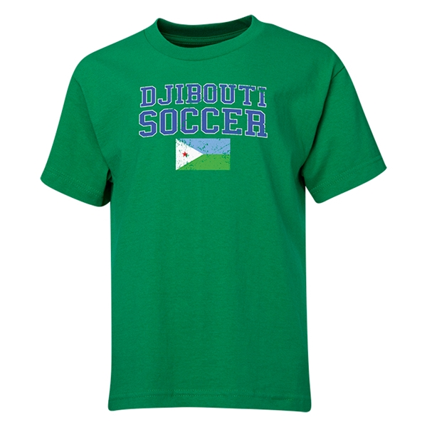 Djibouti Youth Soccer T-Shirt (Green)