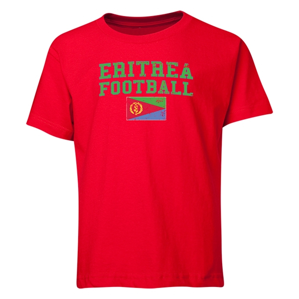 Eritrea Youth Football T-Shirt (Red)