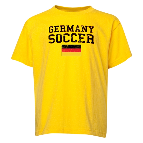 Germany Youth Soccer T-Shirt (Yellow)