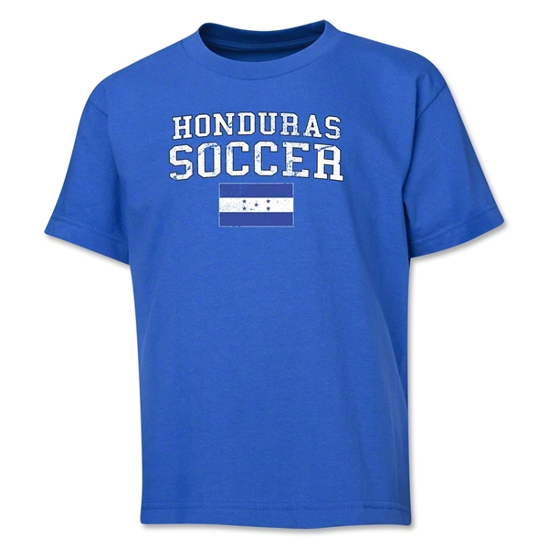 Honduras Youth Soccer T-Shirt (Royal)
