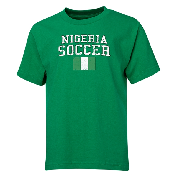 Nigeria Youth Soccer T-Shirt (Green)