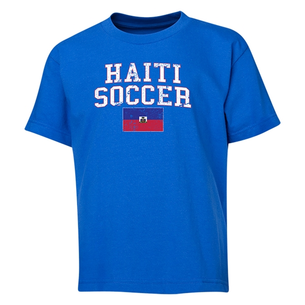 Haiti Youth Soccer T-Shirt (Royal)