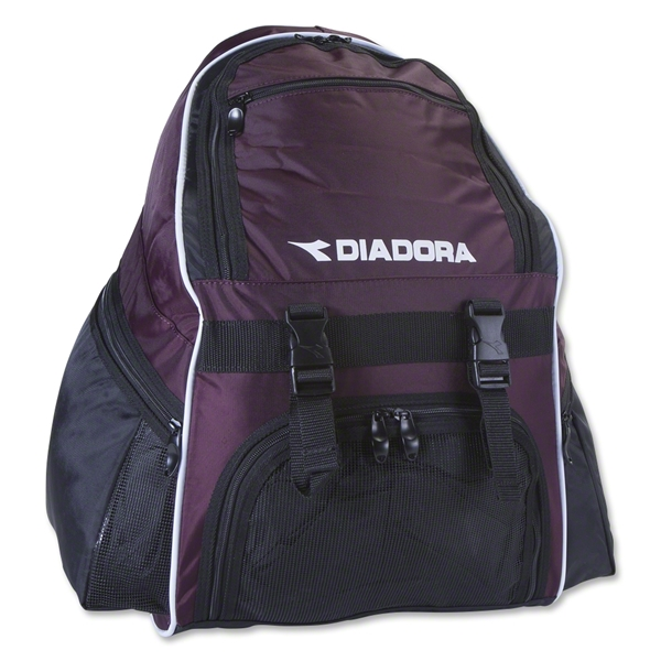 Diadora Squadra Backpack (Maroon)
