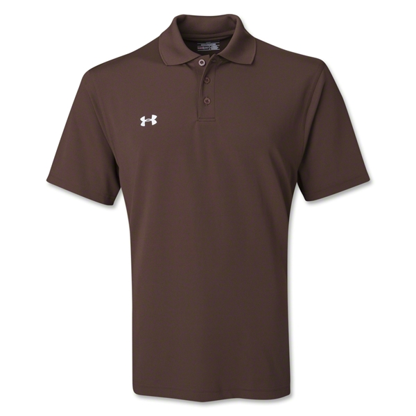 Under Armour Performance Team Polo (Brown)