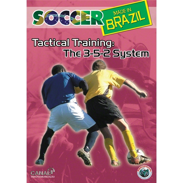 Tactical Training-The 3-5-2 System Soccer DVD