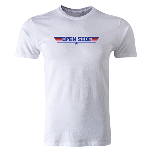 dumpTackle Open Side T-Shirt (White)