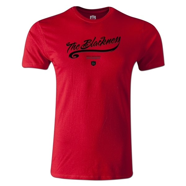 The Blackness Alternative Rugby Commentary T-Shirt (Red)