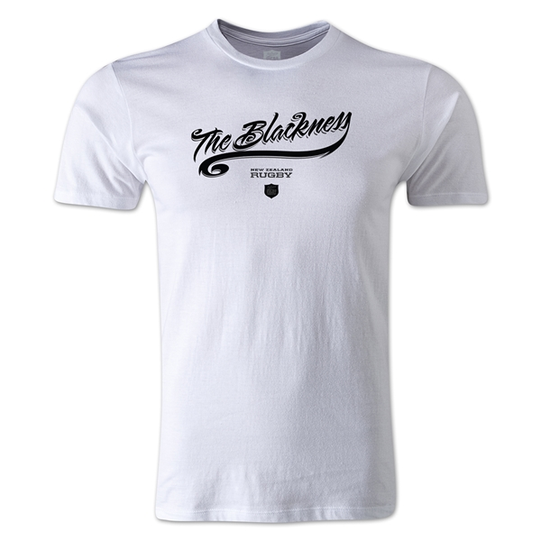 The Blackness Alternative Rugby Commentary T-Shirt (White)