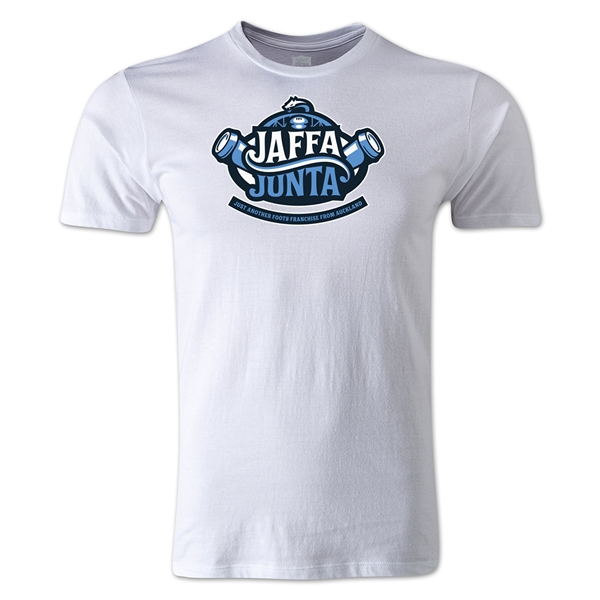 Jaffa Junta Alternative Rugby Commentary T-Shirt (White)