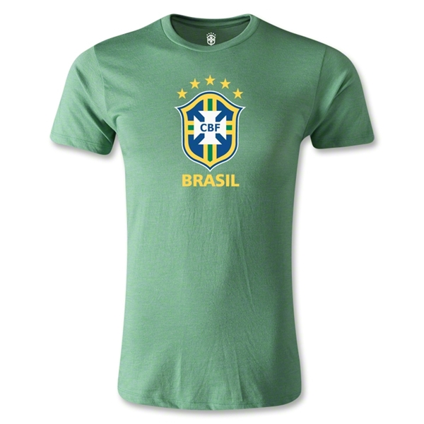 Brazil Men's Fashion T-Shirt (Heather Green)