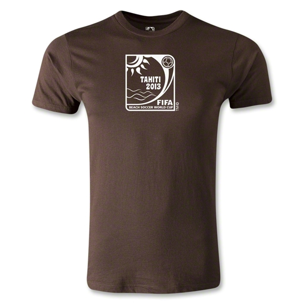 FIFA Beach World Cup 2013 Premier Emblem T-Shirt (Brown)