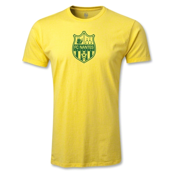 FC Nantes Crest Men's Fashion T-Shirt (Yellow)