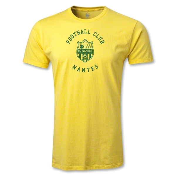 FC Nantes Graphic Men's Fashion T-Shirt (Yellow)