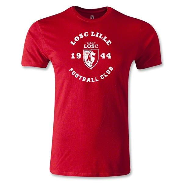 LOSC Lille Graphic Men's Fashion T-Shirt (Red)