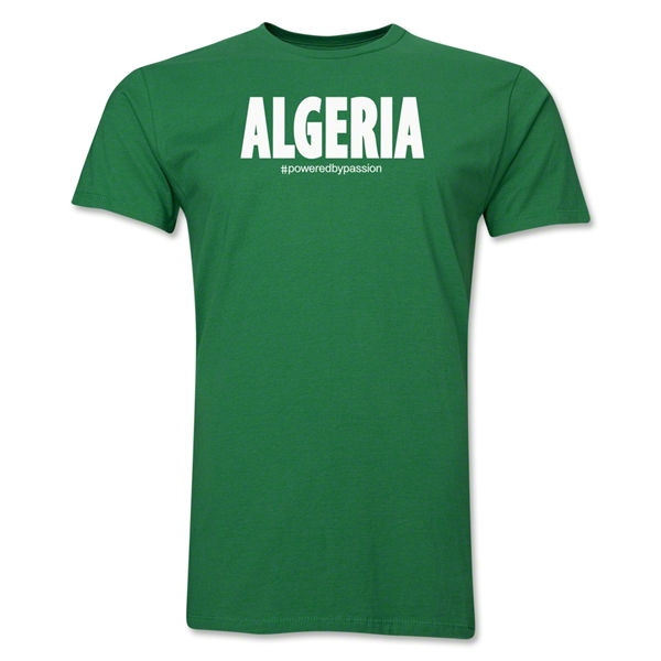 Algeria Powered by Passion T-Shirt (Green)