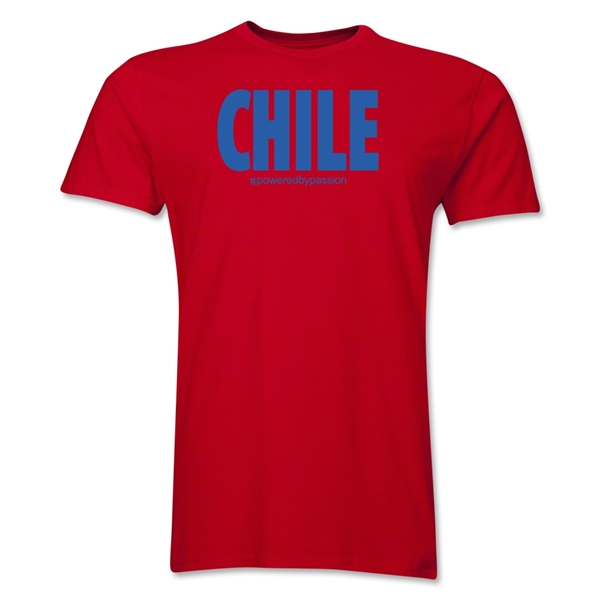 Chile Powered by Passion T-Shirt (Red)