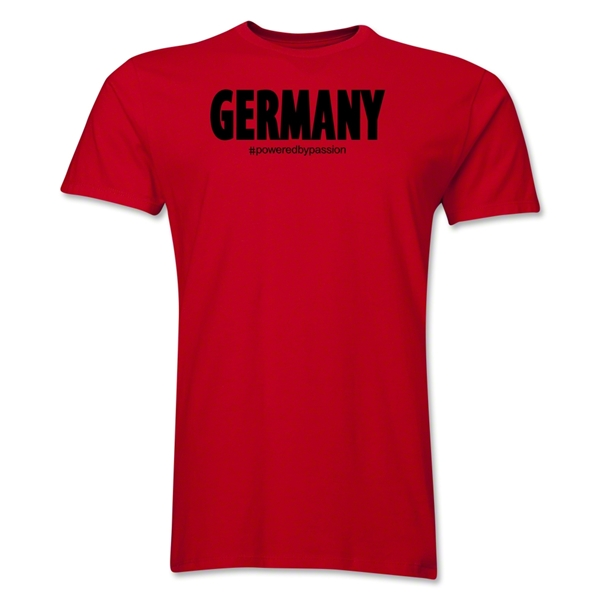 Germany Powered by Passion T-Shirt (Red)