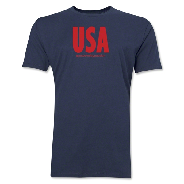 USA Powered by Passion T-Shirt (Navy)