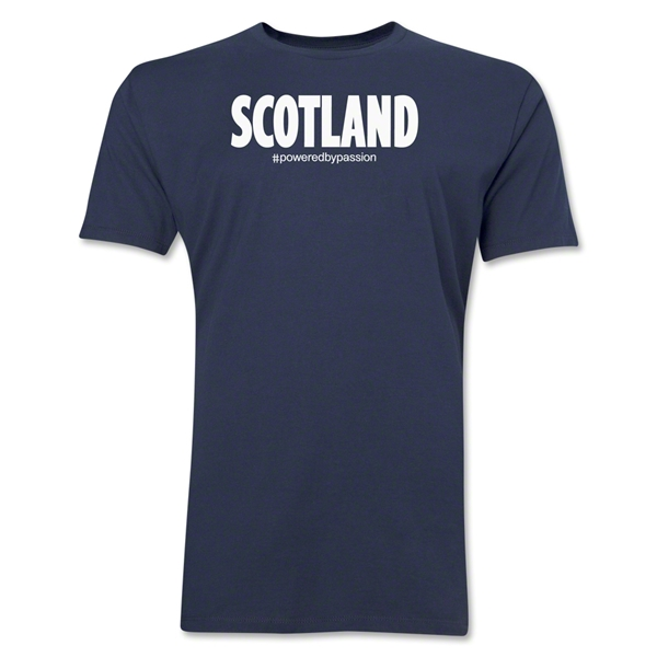 Scotland Powered by Passion T-Shirt (Navy)