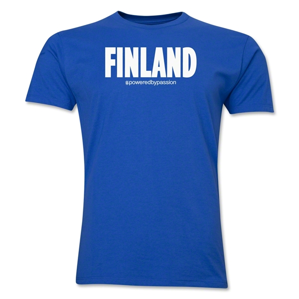 Finland Powered by Passion T-Shirt (Royal)