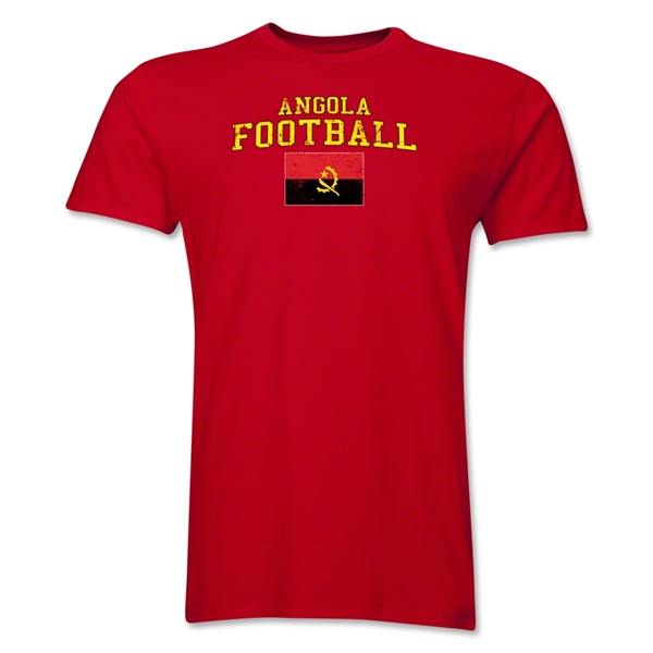 Angola Football T-Shirt (Red)