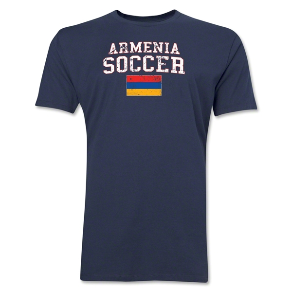 Armenia Soccer T-Shirt (Navy)